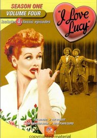 I Love Lucy: Season One - Volume Four Movie