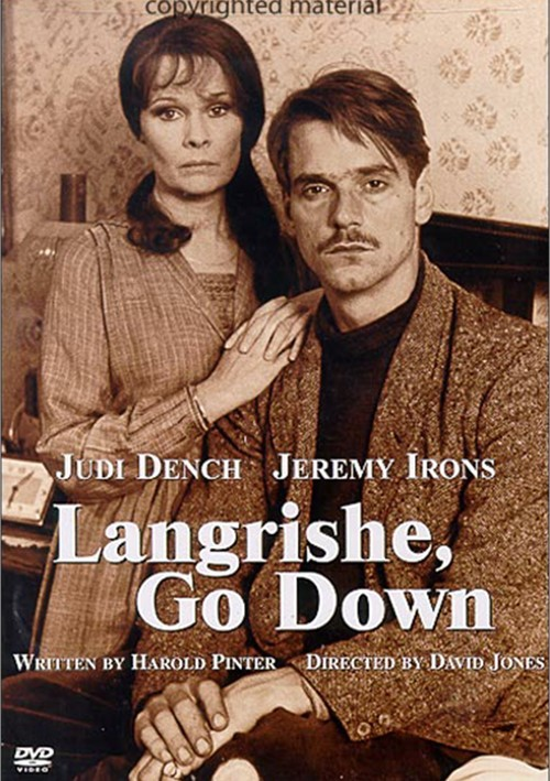 Langrishe, Go Down Movie