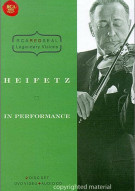 Heifetz: In Performance Movie