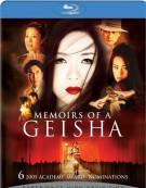 Memoirs Of A Geisha Blu-ray