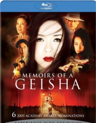 Memoirs Of A Geisha Blu-ray