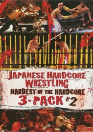 Japanese Hardcore Wrestling: Hardest Of The Hardcore 3 Pack #2 Movie