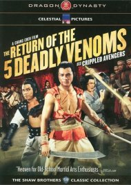 Return Of The 5 Deadly Venoms, The (A.K.A. Crippled Avengers) Movie