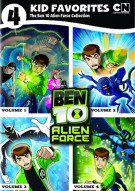 4 Kid Favorites: The Ben 10 - Alien  Collection Movie