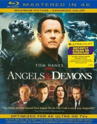 Angels & Demons (Blu-ray + UltraViolet) Blu-ray