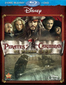 Pirates Of The Caribbean: At Worlds End (Blu-ray + DVD) Blu-ray
