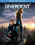 Divergent (Blu-ray + DVD + UltraViolet) Blu-ray
