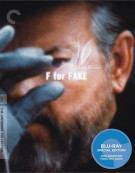F For Fake: The Criterion Collection Blu-ray