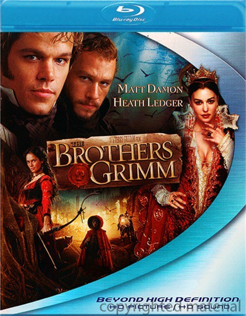 Brothers Grimm, The Blu-ray
