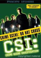 CSI: Crime Scene Investigation - The First Season - Disc 1 Movie