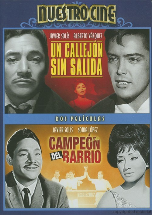 Un Callejon Sin Salida (Alley Without An Exit) / Campeon Del Barrio (Champion Of The Ghetto) (Double Feature) Movie