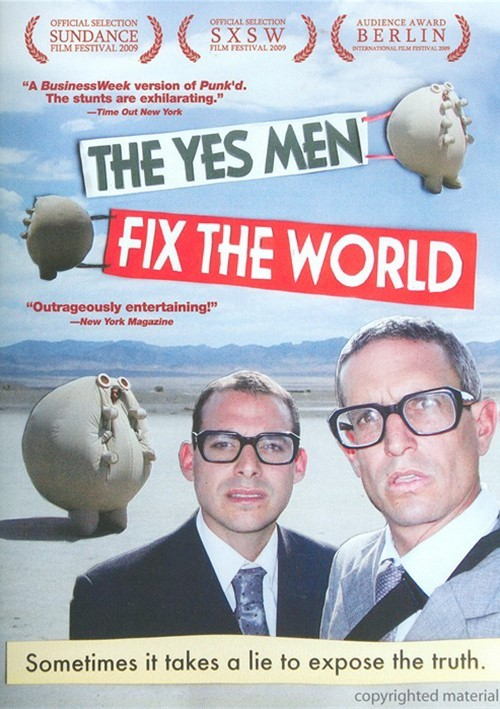 Yes Men Fix The World, The Movie