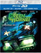 Green Hornet 3D, The (Blu-ray 3D + Blu-ray + DVD) Blu-ray