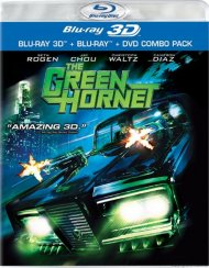 Green Hornet 3D, The (Blu-ray 3D + Blu-ray + DVD) Blu-ray