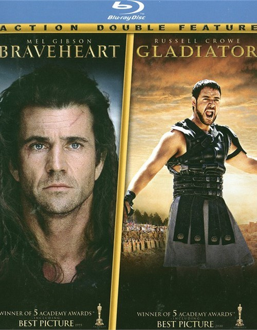 Braveheart / Gladiator (2 Pack) Blu-ray