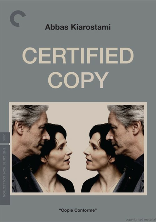 Certified Copy: The Criterion Collection Movie