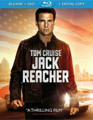 Jack Reacher (Blu-ray + DVD + Digital Copy + UltraViolet) Blu-ray
