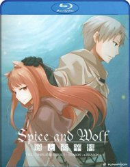 Spice And Wolf: The Complete Series (Blu-ray + DVD Combo) Blu-ray