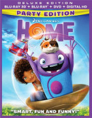 Home: Party Edition - Deluxe Edition (Blu-ray 3D + Blu-ray + DVD + UltraViolet) Blu-ray