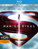 Man Of Steel (4K Ultra HD + Blu-ray + UltraViolet) Blu-ray