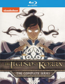 Legend Of Korra, The: The Complete Series Blu-ray