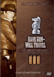 Have Gun Will Travel: The Complete Third Season Movie