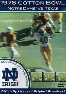 1978 Cotton Bowl: Notre Dame Vs. Texas Movie