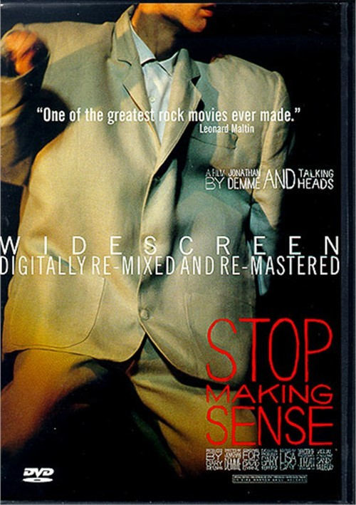 Talking Heads: Stop Making Sense Movie