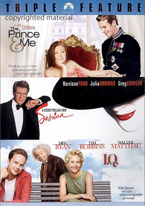 Prince & Me, The / Sabrina / I.Q. (Triple Feature) Movie