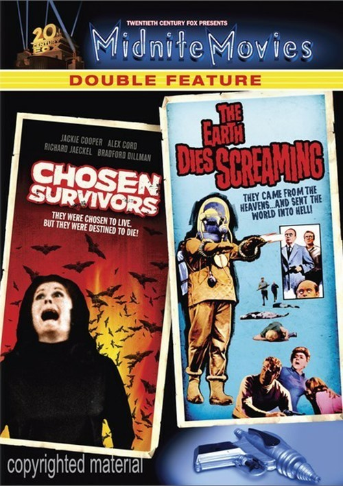 Chosen Survivors / Earth Dies Screaming (Double Feature) Movie