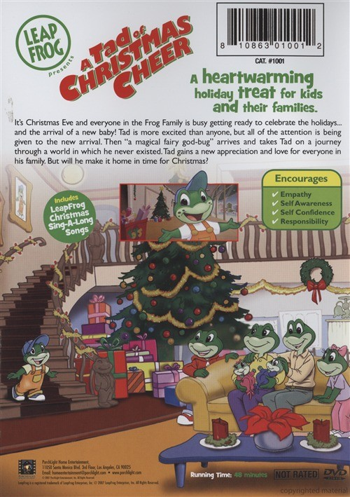 Leapfrog A Tad Of Christmas Cheer Dvd.Leapfrog Cheer Christmas Related Keywords Suggestions