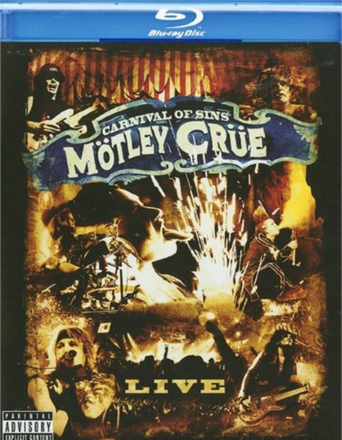 Motley Crue: Carnival Of Sins    Blu-ray