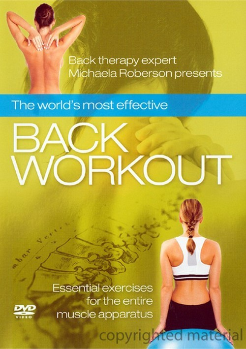 Worlds Most Effective Back Workout, The Movie
