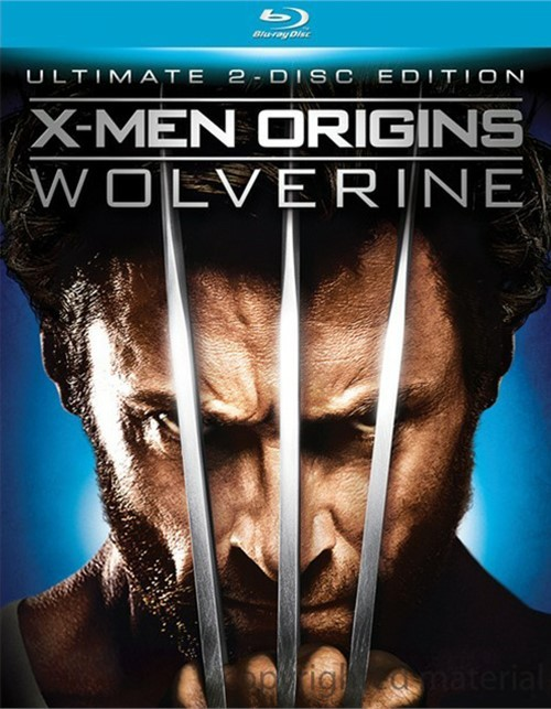 X-Men Origins: Wolverine - Ultimate 2 Disc Edition Blu-ray