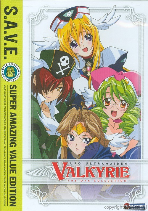 UFO Ultramaiden Valkyrie: Seasons 3 & 4 Collection Movie