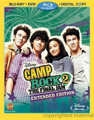 Camp Rock 2: The Final Jam - Extended Edition Blu-ray
