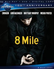 8 Mile (Blu-ray + DVD + Digital Copy) Blu-ray