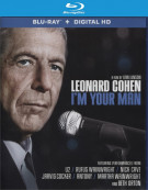 Leonard Cohen: Im Your Man (Blu-ray + Ultraviolet) Blu-ray