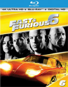 Fast & Furious 6 (4K Ultra HD + Blu-ray + UltraViolet) Blu-ray