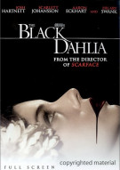 Black Dahlia, The (Fullscreen) Movie