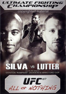 UFC 67: All Or Nothing Movie