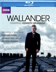 Wallander: Faceless Killers, The Man Who Smiled, The Fifth Woman Blu-ray