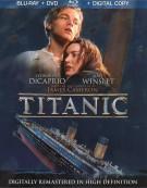 Titanic (Blu-ray + DVD + Digital Copy) Blu-ray