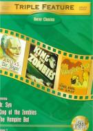 Horror Classics: Triple Feature - Volume 2 Movie