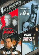 4 Film Favorites: Steven Seagal Action Movie