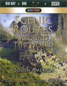 Scenic Routes Around The World: South America (Blu-ray + DVD + Digital Copy) Blu-ray
