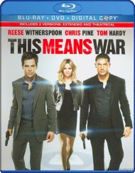 This Means War (Blu-ray + DVD + Digital Copy) Blu-ray