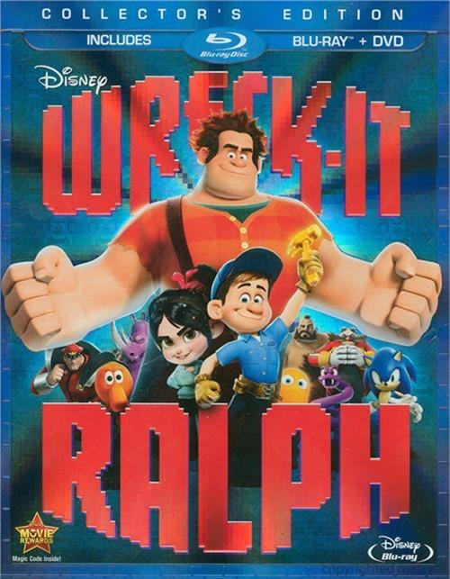 Wreck-It Ralph (Blu-ray + DVD Combo) Blu-ray