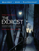 Exorcist, The: 40th Anniversary Edition (Blu-ray + DVD + UltraViolet) Blu-ray