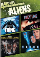 4-Movie Midnight Marathon Pack: Aliens Movie